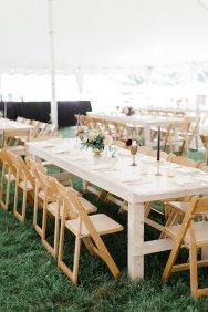 auburn + ivory table rentals