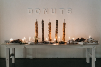 Minimal Donut Display